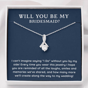 Be My Bridesmaid Necklace - Like Buy Love