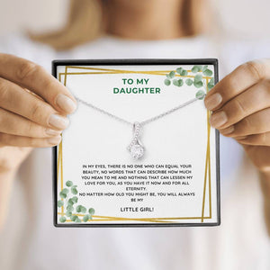 Little Girl Daughter Necklace - Like Buy Love
