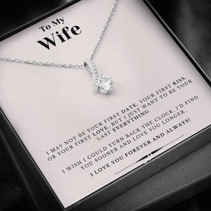 Forever and Always Wife Necklace