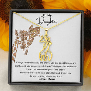 Stand Tall Daughter Necklace