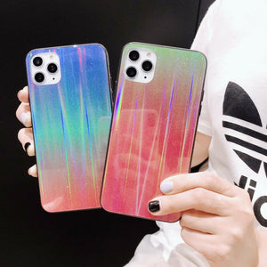 Rainbow Glitter iPhone Case - Like Buy Love
