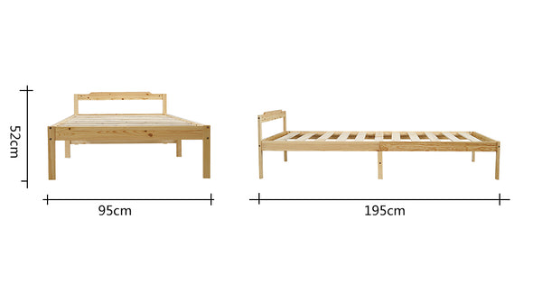 wooden bed,solid wood