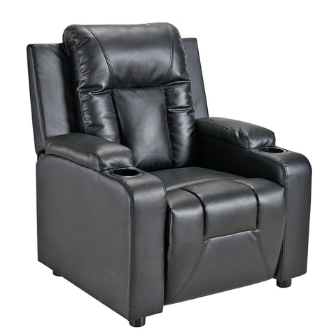 Leather Recliners Chair with Cup Holder