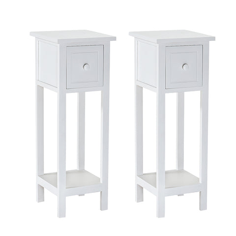 Pair of Bedside Table |25 x 70x 25 cm