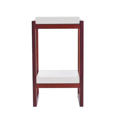 Double Shelves Bedside Table |34 x 30.2 x 60 cm