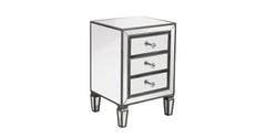 Mirror Nightstand, Bedside Tables|H67cm x W50cm x D40cm