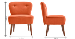 Orange_armchair uk
