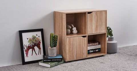 Cube Display Shelf and Room Divider