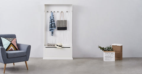 Hallway  Wardrobe with Coat Hook Shoe Storage