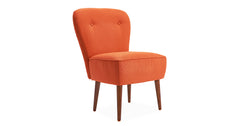 Orange_armchair for living room