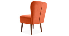 Orange _occasional chairs