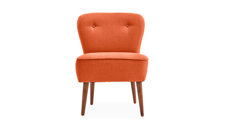 Orange_accent chairs uk