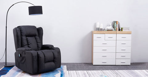 Black_Electric Recliner Armchair