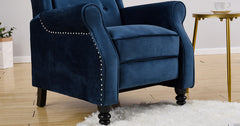 Blue_Wing Back Fireside Recliner Chair