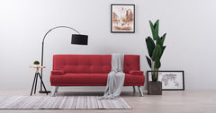 Red_sofa bed