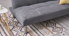 Grey_3 Seater Clic Clac Sofa Bed