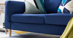 Blue_2 Seater Sofa