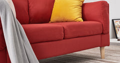 Red_2 Seater Sofa