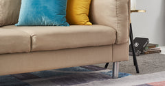 Beige_3 Seater Sofa