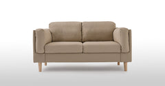 Beige_2 Seater Sofa