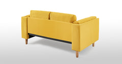 Yellow_2 Seater Sofa