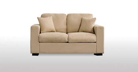 Cream_2 Seater Fabric Sofa