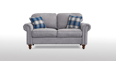 Grey_2 Seater Fabric Sofa