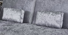 Silver_sofa bed