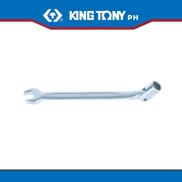 King Tony #1020, Combination Swivel Head Socket Wrench Set - United Solid Facility Inc.