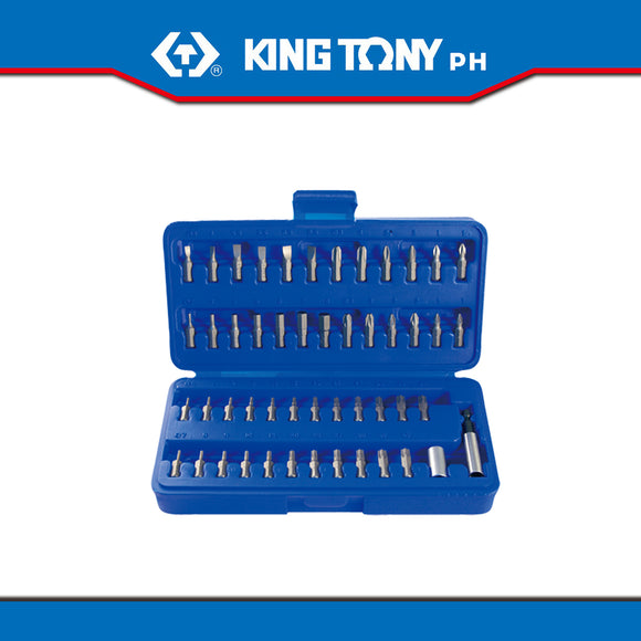 King Tony #1050CQ, 50 Pc. Assorted Bit Set in Casing