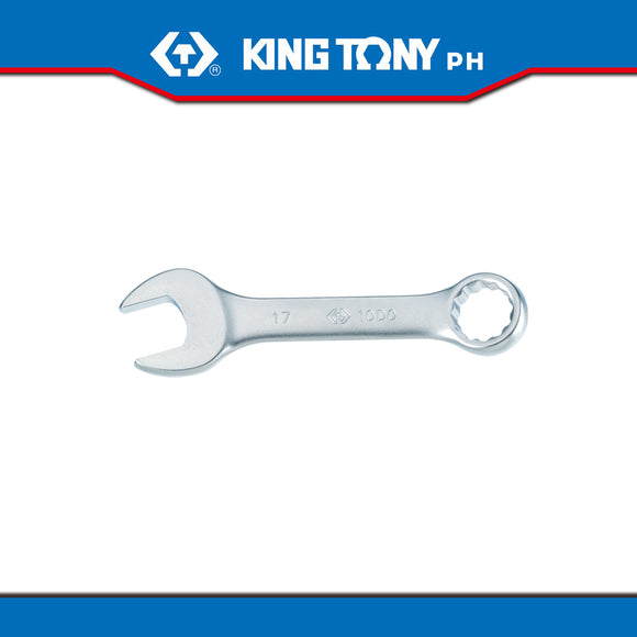 King Tony #10D0, Stubby Combination Wrench - United Solid Facility Inc.