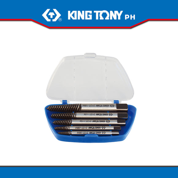 King Tony #11205SQ, 5 Pc. Screw Extractor Set
