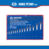 King Tony #12114MR.12214MR, Speed Wrench, 8-24mm (14pcs.)