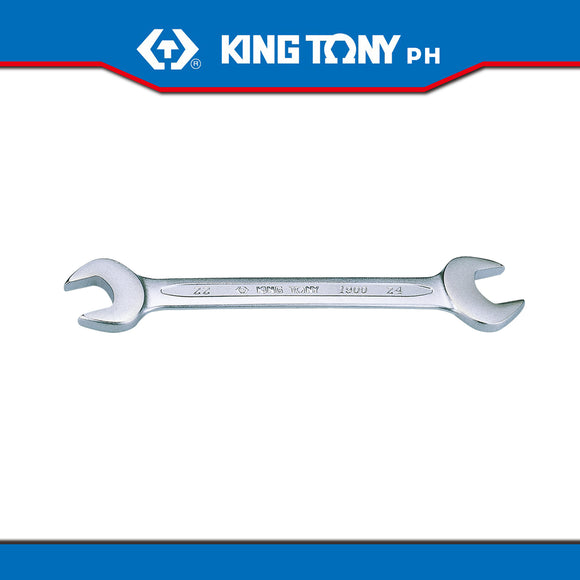 King Tony #1900, Open End Wrench - United Solid Facility Inc.