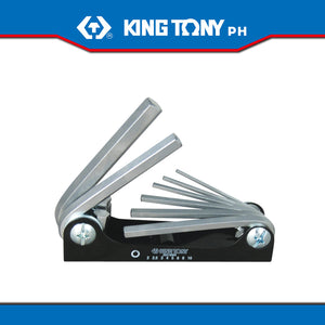 King Tony #20218MR, 8 Pc. Hex Key Set (Knife Type)
