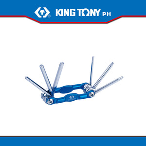 King Tony #20306PR, 6 Pc. Key Set (Knife Type)