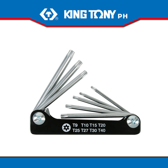 King Tony #20308PR, 8 Pc. Torx Key Set (Knife Type)