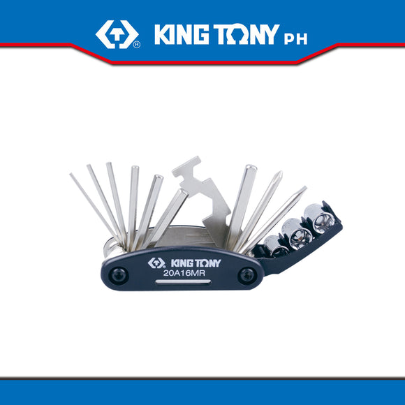 King Tony #20A16MR, 16 Pc. Bicycle Repair Tool