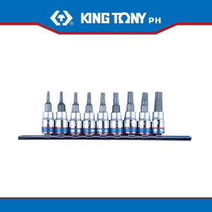 "King Tony #2109PR, 1/4"" Drive Torx Bit Socket Set (9pcs.)"