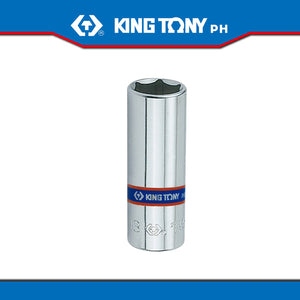 "King Tony #2235M, 1/4"" Drive Deep Socket (metric) - United Solid Facility Inc."