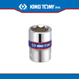 "King Tony #2310, 1/4"" Drive Double Square Socket (metric/english) - United Solid Facility Inc."