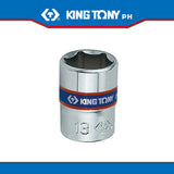 "King Tony #2335M/2330M, 1/4"" Drive Standard Socket (metric) - United Solid Facility Inc."