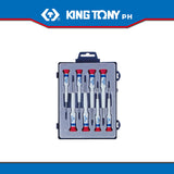 King Tony #32108MR/32118MR, 7 Pc. Precision Screwdriver Set (Phillips/Slotted) - United Solid Facility Inc.