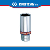 "King Tony #3235S/3230S, 3/8"" Drive Deep Socket (english) - United Solid Facility Inc."
