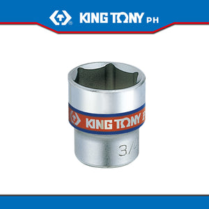 "King Tony #3335S/3330S, 3/8"" Drive Standard Socket (english) - United Solid Facility Inc."