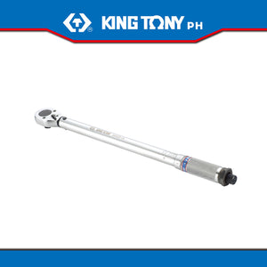"King Tony #34223, 1/4"" Drive Adjustable Click Type Torque Wrench"