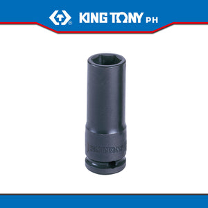 "King Tony #3435M, 3/8"" Drive Deep Impact Socket (metric) - United Solid Facility Inc."