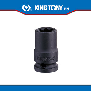 "King Tony #3575M, 3/8"" Drive Impact Star Socket - United Solid Facility Inc."