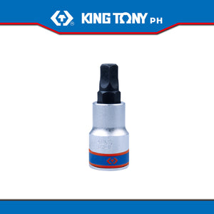 "King Tony #402A10, 1/2"" Drive Pentagon Bit Socket 10 mm - United Solid Facility Inc."