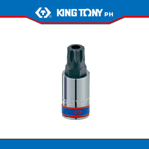 "King Tony #402B, 1/2"" Drive Spline Bit Socket (for gearbox and sump plugs) - United Solid Facility Inc."